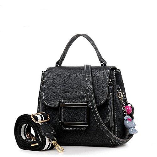 Sjmmbb Bag, Women Bag, Fashion Bags, Large Shoulder Bag, Black, Black 20x19x10,5cm