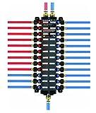 VIEGA 49246 Pureflow Combination Manabloc Poly Pex Press 3/8'' x 1/2'' To 24 Press x Press No. of Outlets (2-Pack)