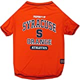 Pets First NCAA SYRACUSE ORANGE Dog T-Shirt, Small