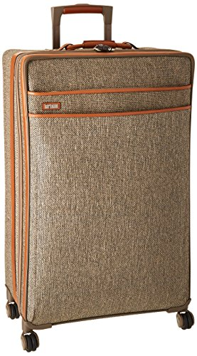 Hartmann Tweed Collection Long Journey Expandable Spinner, Natural Tweed, One Size by Hartmann