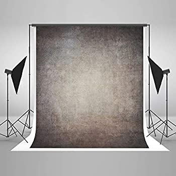 Image of Backgrounds 10ft(W) x10ft(H) Gray Canvas Portrait Photo Backdrop Muslin Studio Abstract Grunge Background Old Paper Photo Studio Booth Props for Photography Seamless Free Wrinkles