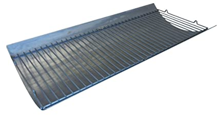 Aluminized Steel Ashpan and Grate for Char Griller Gas Grill Models CharGriller 2121, CharGriller 2222