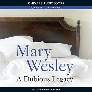 A Dubious Legacy Audiobook