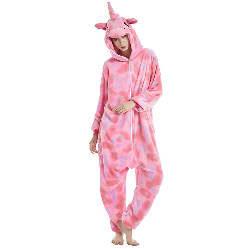LPATTERN Unisexe Adulte Combinaison Pyjama Animaux Nuit V/êtement Costume Cosplay