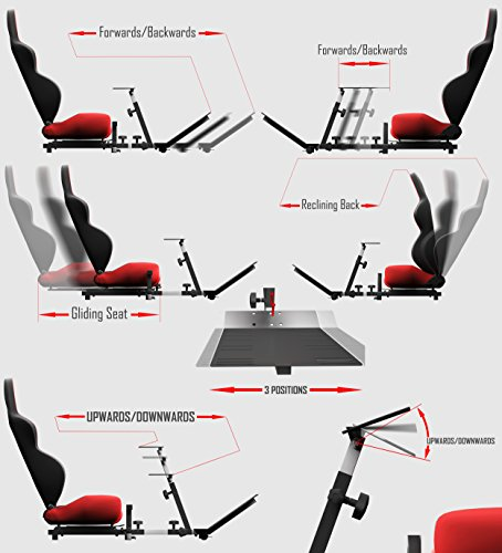 51  1oRjoSL - Openwheeler-Advanced-Racing-Simulator-Seat-Blue-Driving-Simulator-Gaming-Chair-with-Gear-Shift-Mount