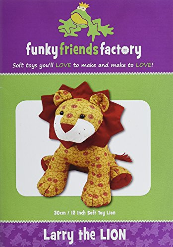 Funky Friends Factory Larry The Lion -