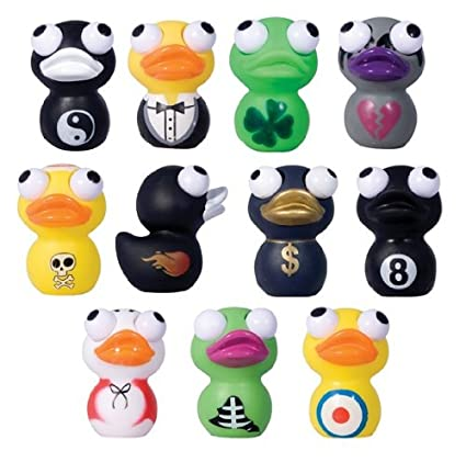 Amazon.com: Eye Poppers Patos Random Lot de 12: Toys & Games