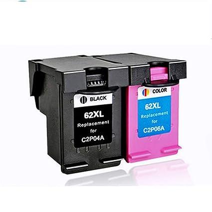 Reemplazo para cartuchos de tinta hp 62 Compatible con HP ...