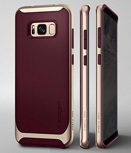 new style 981db 1bbe9 Spigen Neo Hybrid Designed for Samsung Galaxy S8 Case (2017) - Burgundy