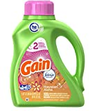 Gain HEC with Febreze Freshness Hawaiian Aloha Liquid Laundry Detergent 24 Loads 50 Fl Oz(Pack of 2)
