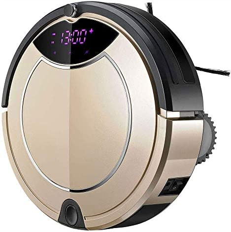 Aspirateur robot, super silencieux, auto-charge robotisée à vide, Cleans Pet Fur, Hard Floor à tapis hsvbkwm 1yess