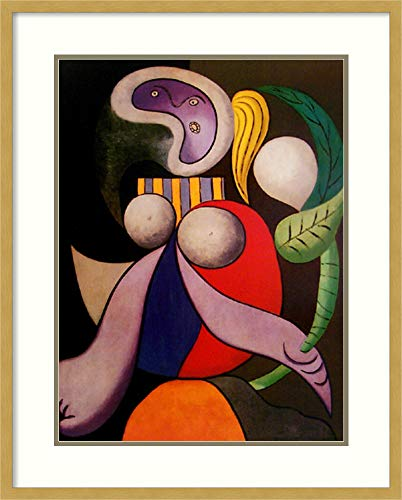 - Framed Wall Art Print | Home Wall Decor Art Prints | Femme a la Fleur (Woman with Flower), 1932 by Pablo Picasso | Modern Decor