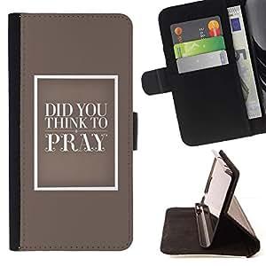 For Sony Xperia Z2 D6502 Case , aime Beige Religion Bible - la tarjeta de Crédito Slots PU Funda de cuero Monedero caso cubierta de piel