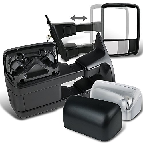 Spec-D Tuning RMX-F25008CT-P-FS Spec-D Chrome Towing Mirrors Power