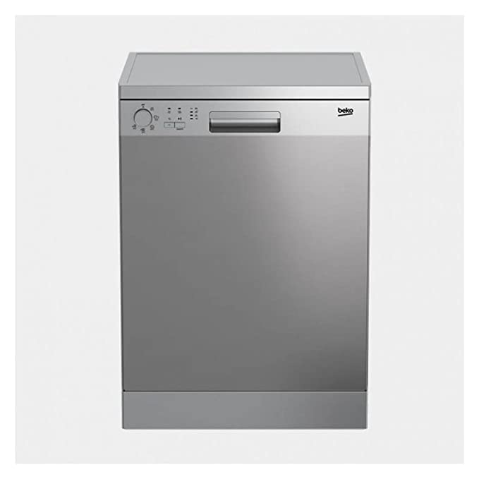 Beko DFN05210X Independiente 12cubiertos A+ lavavajilla ...