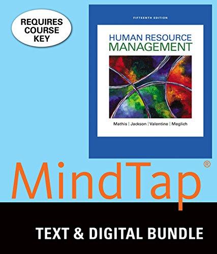 Bundle: Human Resource Management, Loose-Leaf Version, 15th + LMS Integrated for MindTap Management, 1 term (6 months) Printed Access Card