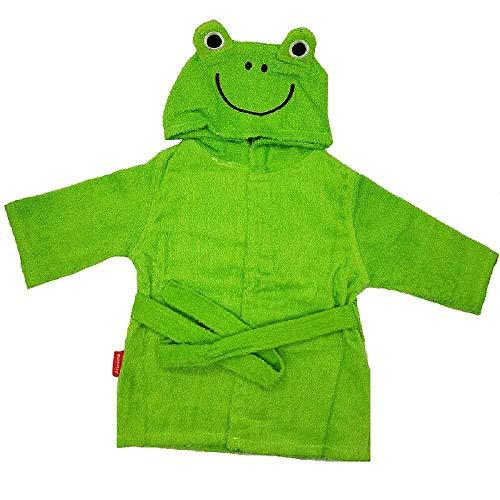 Frog Character Hooded Towel - Hooyi Baby Green Frog Towels Bathrobe Cartoon Girl Hooded Spa Robe Newborn Blanket Bedding Swaddle Toddler Rompers (Green, 0-1 Year)