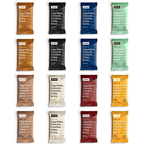 RXBAR 8 Flavor Variety Pack, 2 Each, 1.83 Ounce (16 (Multi Fuel Corn)