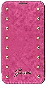 Guess Studded - Funda booklet para Samsung Galaxy S5, color rosa
