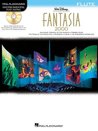 - Hal Leonard Fantasia 2000 For Flute - Instrumental Play-Along Book/CD