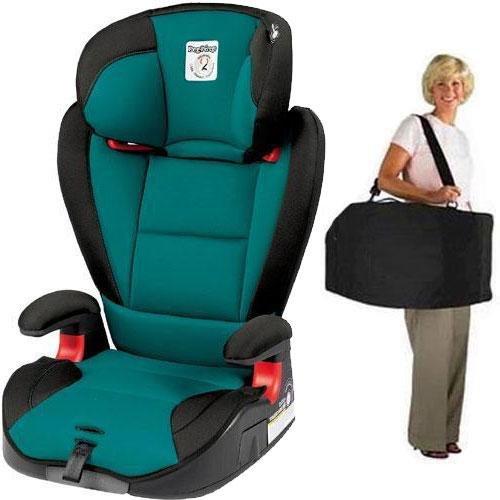 Peg Perego - VIAGGIO HBB 120 Car Seat with Carrying Case - Aquamarine