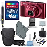 Canon PowerShot SX620 HS Digital Camera (Red) along with 16GB, Deluxe Accessory Bundle and Cleaning Kit Review