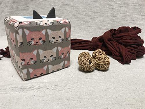 Handmade Hülle für die Toniebox / Tonie Box Katzen