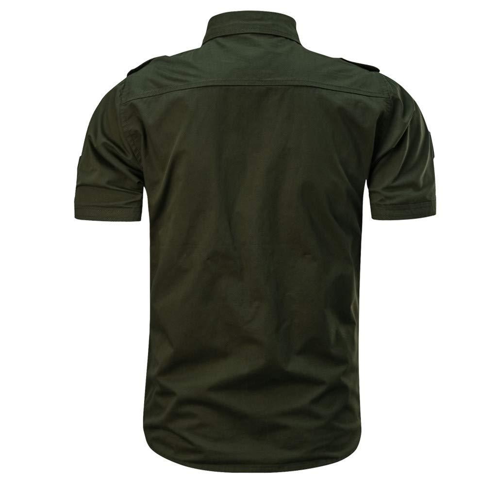 bf0cd6b574d Bestoppen Men s Polo Shirts Black Men Summer Fasion Short Sleeve Long  Sleeve Turn Down Collar Tee Shirt Tops Slim Fit Print T Shirts Polo Novelty  Casual ...