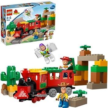 a013da0875d7d LEGO Duplo Toy Story 5659 - La Gran Persecución en el Tren (Ref. 4556492)   Amazon.es  Juguetes y juegos