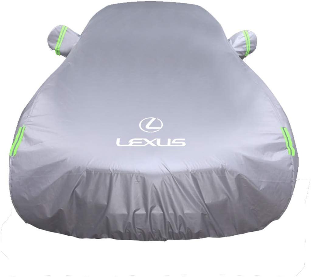レクサスCT車カバー 日焼け止め 防雨 厚手断熱車カバー ES200 ホワイト MUBIN0785 ホワイト ES200
