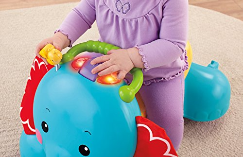 Fisher-Price - Elefante Andador 3 En 1 (Mattel CBN62): Amazon.es ...