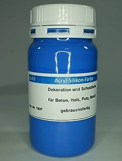 Anthrazit Beton Farbe Acryl Silikon 1 Liter Amazon De Baumarkt