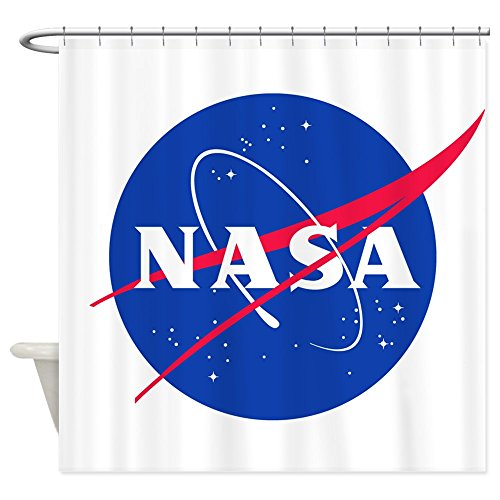 CafePress - NASA - Decorative Fabric Shower Curtain (69