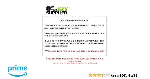Amazon remote store chrysler town country keyless entry amazon remote store chrysler town country keyless entry remote start fob replacement fcc iyz c01c automotive solutioingenieria Choice Image