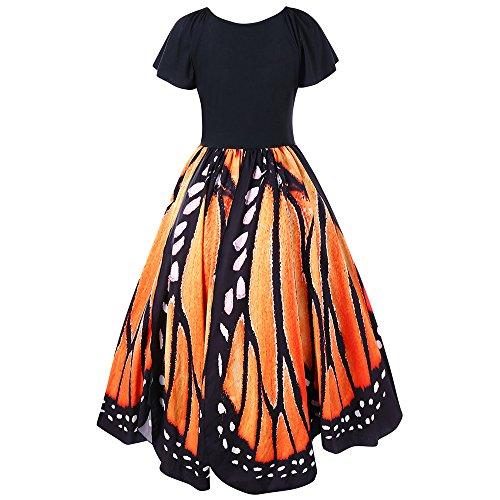 butterfly dress ladies - 6