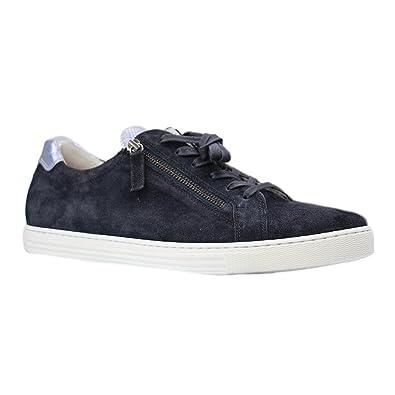 info for 66d85 e44e3 Gabor COMFORT - 66.488 - Damen Sneaker - Blau Schuhe in Übergrößen,  Größe:43, Farben:Blau, Weite:G