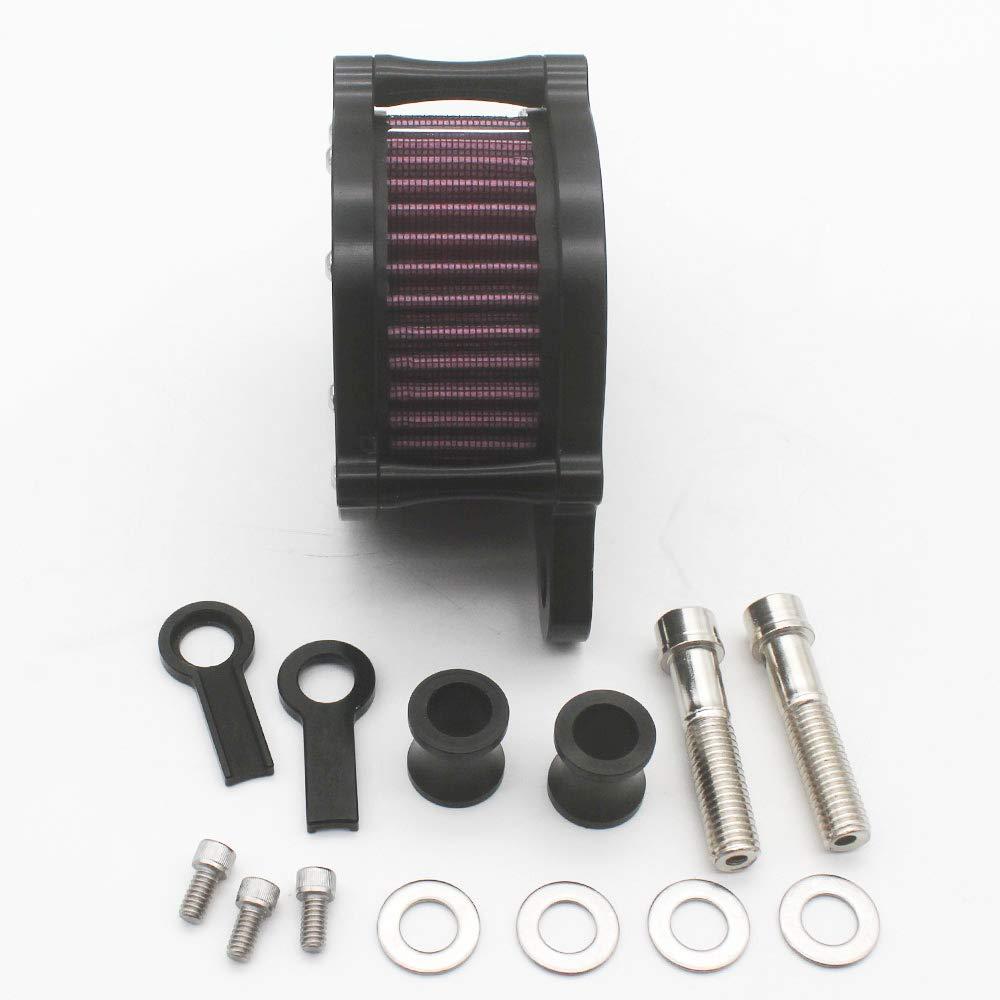 KIPA Air Cleaner Intake Filter System Kit For Harley Davidson Sportster XL883 XL883N XL883R XL883P XL1200 XL1200L XL1200X Iron 883 Forty Eight XL1200X 2004-2016 Billet Aluminum CNC Machined Washable by KIPA (Image #6)