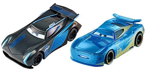 Disney / Pixar Cars 3, Jackson Storm and Danny Swervez, 1:55