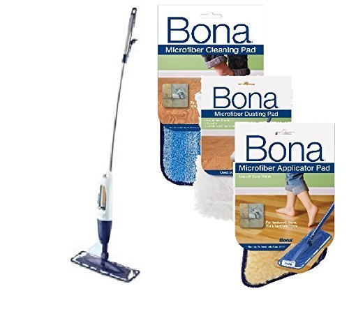 Bona Hardwood Floor Spray CURVE Mop with Dust - Bona Curve Mop