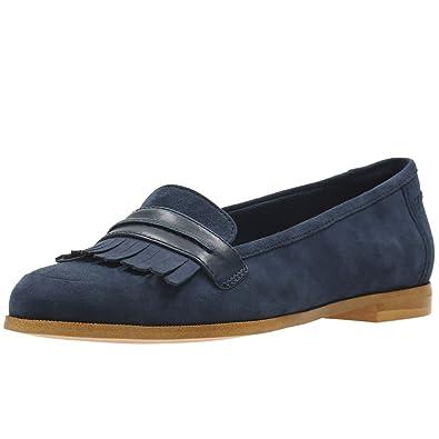Clarks Geox Andora Crush Damenschuhe Lässig Slip D on Schuhe 7.5 D Slip (M) UK ... ecdda9