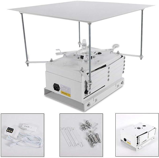 OUBAYLEW 100cm Proyector Soporte motorizado eléctrico Ascensor ...