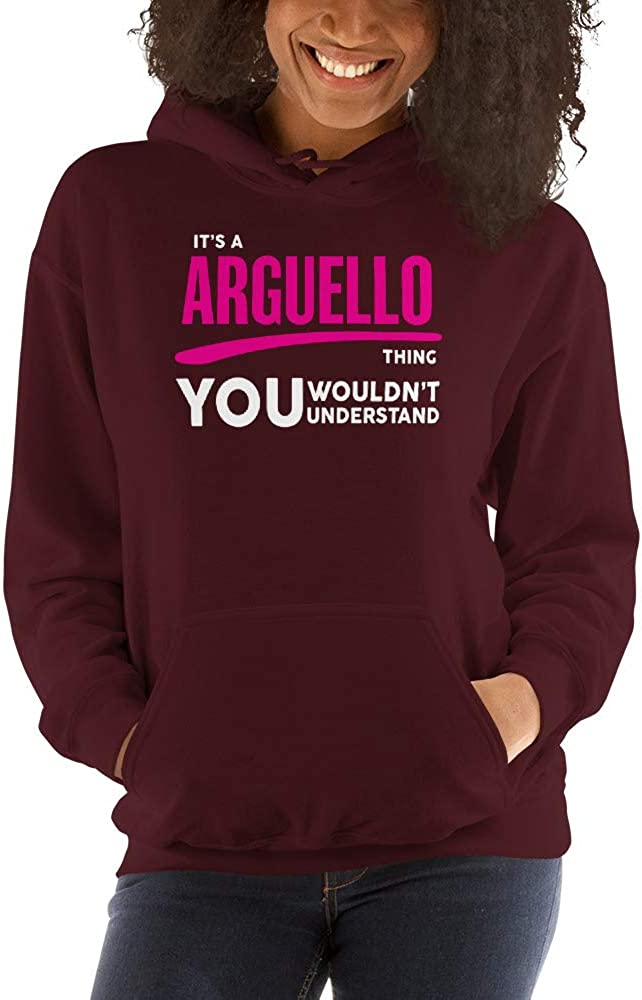 meken Its A ARGUELLO Thing You Wouldnt Understand PF