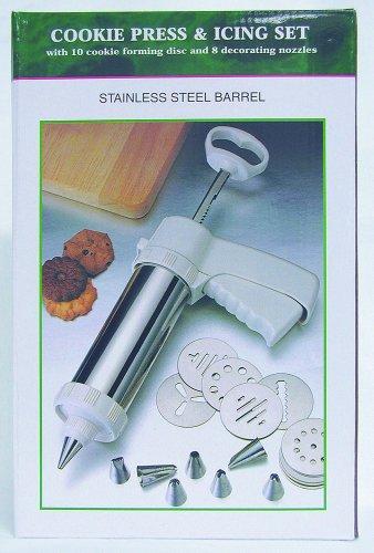 R & M Cookie Press And Icing Gun - Best Spritz Christmas Cookies