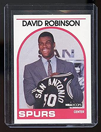 1989 90 Hoops 138 David Robinson Sp Spurs Rc Rookie Card Mint Condition Ships In A Brand New Holder