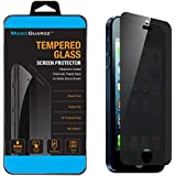 MagicGuardz®, Made for Apple iPhone 5 5S 5C, Privacy Anti-Spy Tempered Glass Screen Protector Shield, Retail Box