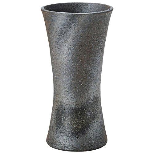 Japanese Ceramic Shigaraki ware. Ikebana flower vase. Ibushitsutsumi. 1-2510