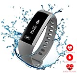 READ New Smart Fitness Tracker,Smart Watch with Blood Pressure Heart Rate Sleep Pedometer Camera Remote Shoot Blood Oxygen Monitor Smart Wristband Bracelet R5 for Bluetooth Andriod and iOS