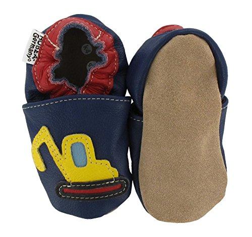 HOBEA Digger - Zapatos Unisex bebé Azul (Blue)