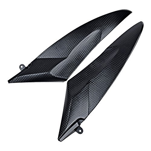 Matte Black Fuel Gas Tank Side Cover Protector Pad Panel Fairing for Yamaha YZF R6 2006-2007 -  Tank Side Cover Panels, M25-157-AZO-1