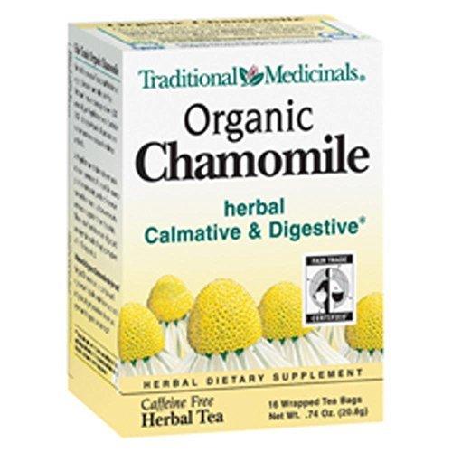 Traditional Medicinals Tea Og1 Chamomile 16 Bag by Traditional Medicinals